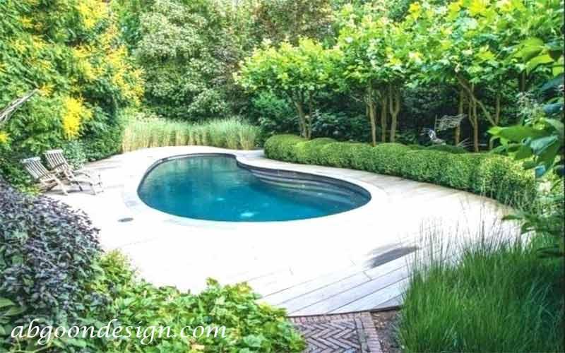 هزینه ساخت و اجرای استخر باغ|آبگون دیزاین
