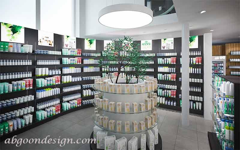 دیزاین داروخانه|آبگون دیزاین