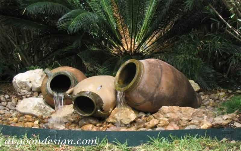 آموزش ساخت آبنما با کوزه |آبگون دیزاین