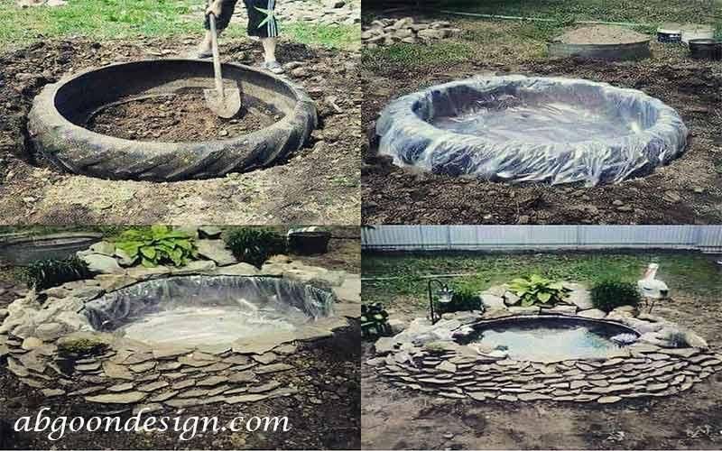 ساخت آبنما در خانه |آبگون دیزاین