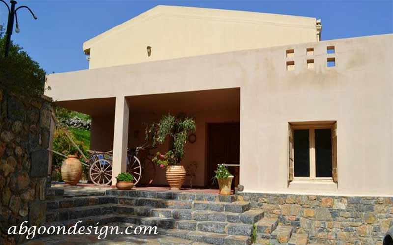 طراحی باغ ویلا سنتی ایرانی