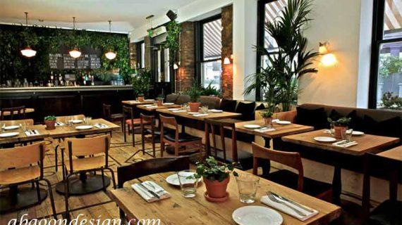 نکات مهم در طراحی رستوران