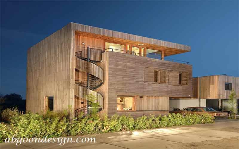 مزایای طراحی و ساخت ویلا چوبی| آبگون دیزاین