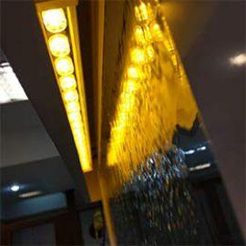 آبنما شیشه ای طلایی – سعادت آباد
