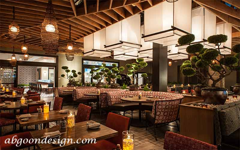 اصول و ضوابط طراحی رستوران | آبگون دیزاین