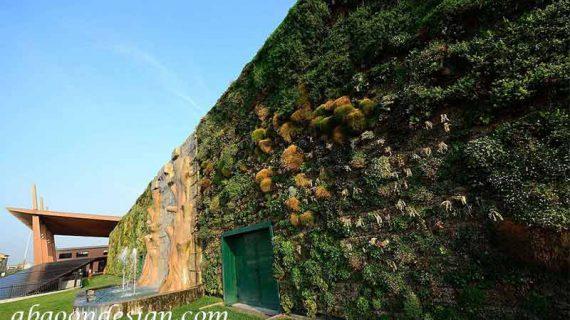 بزرگترین دیوار سبز جهان