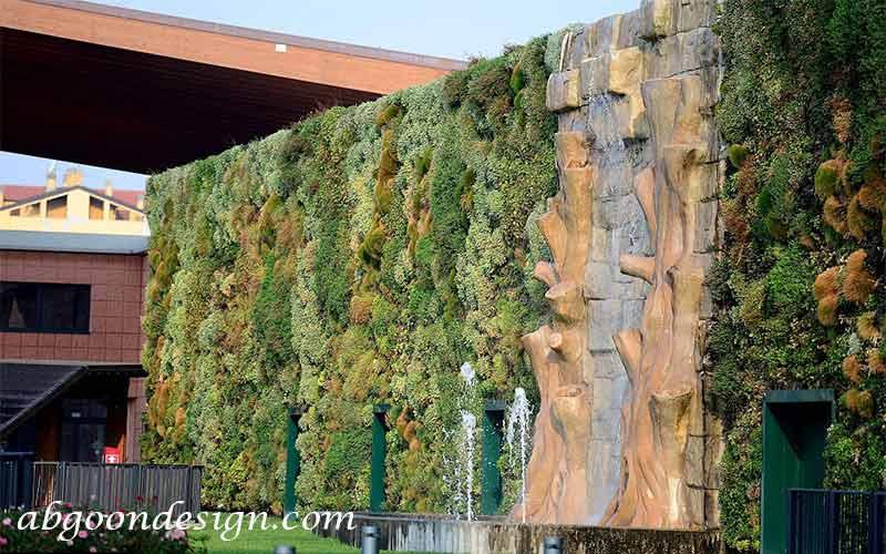پروژه بزرگترین دیوار سبز جهان در میلان|آبگون دیزاین