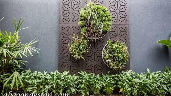 جزئیات اجرای دیوار سبز