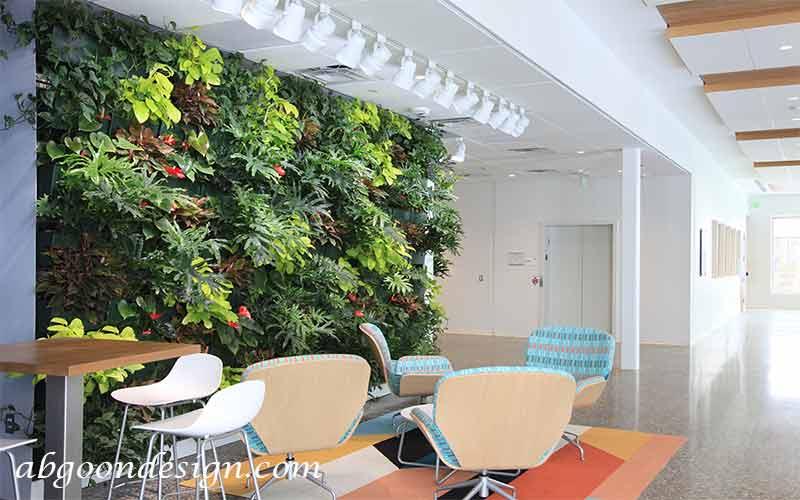 جزئیات نحوه اجرای دیوار سبز|آبگون دیزاین