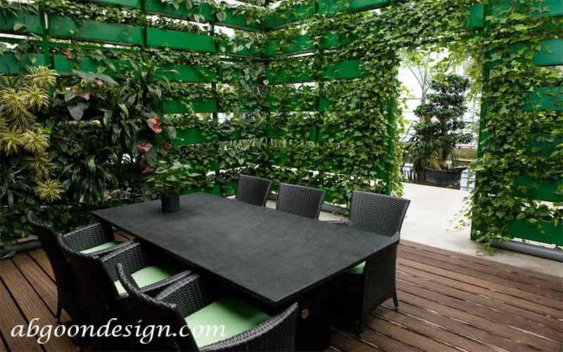 چگونه دیوار سبز درست کنیم| آبگون دیزاین