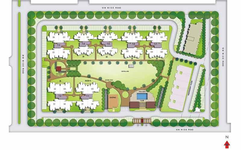 نقشه طراحی لنداسکیپ|آبگون دیزاین