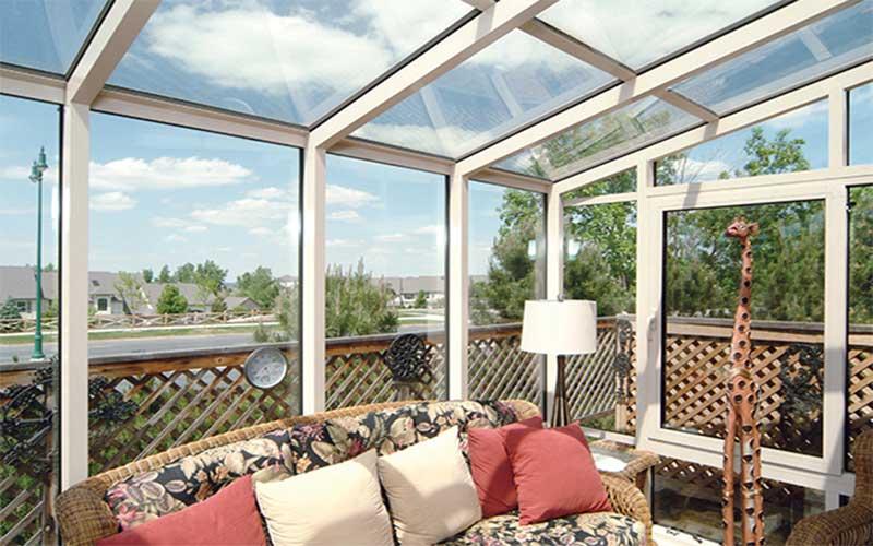 باغ بام شیشه ای |آبگون دیزاین