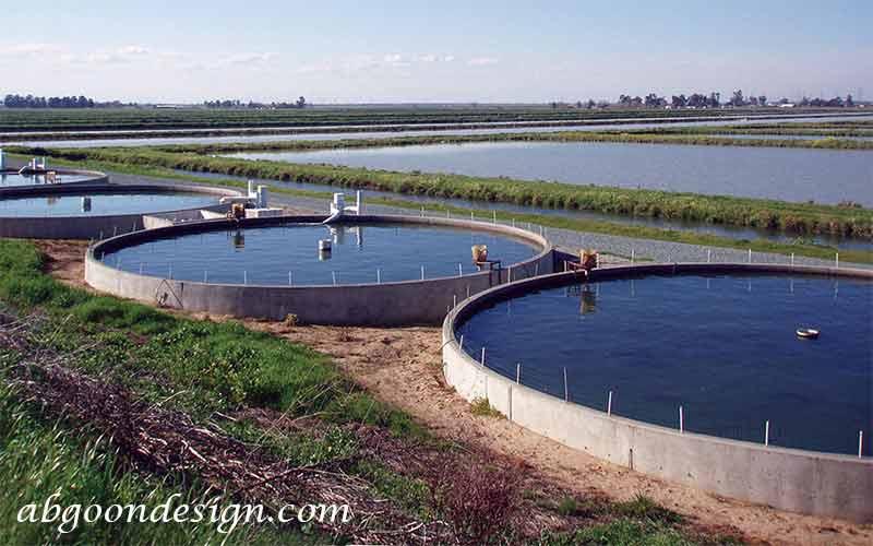 طراحی و ساخت استخر پرورش ماهی