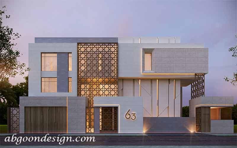 طراحی و ساخت خانه ویلایی مدرن