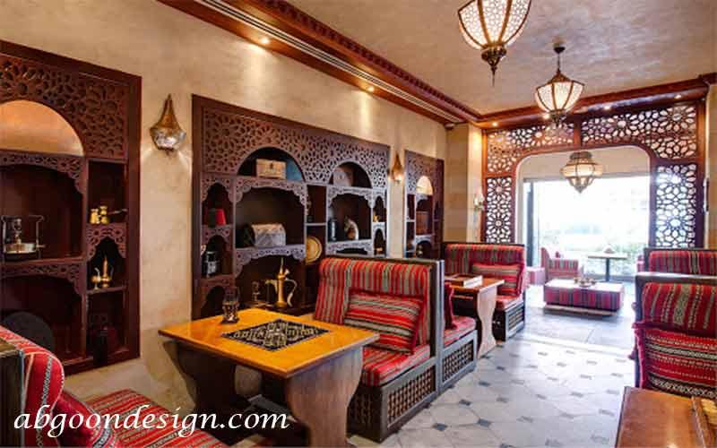 طراحی داخلی رستوران عربی|آبگون دیزاین
