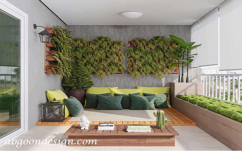 ساخت دیوار سبز در خانه