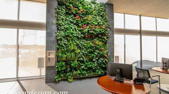 زیرسازی دیوار سبز