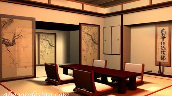 طراحی رستوران سنتی ژاپنی