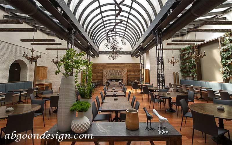 فضا های مورد نیاز برای طراحی رستوران