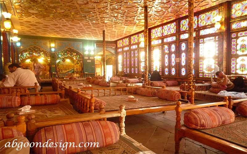 ایده هایی برای طراحی رستوران سنتی - آبگون دیزاین