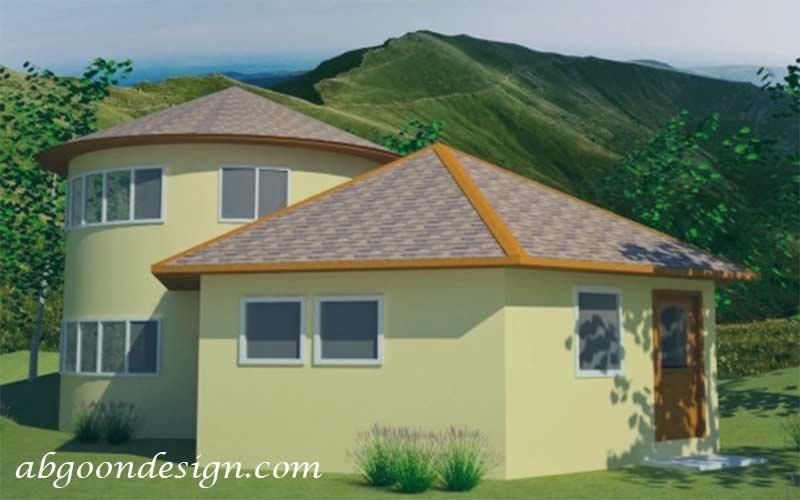 طراحی و ساخت ویلا شش ضلعی | آبگون دیزاین