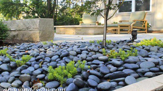 سنگ های محوطه سازی