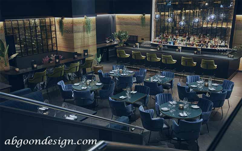 طراحی داخلی رستوران های لوکس | آبگون دیزاین