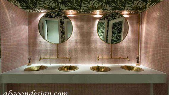 طراحی سرویس بهداشتی رستوران