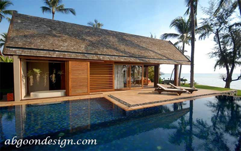 طراحی ویلا کنار ساحلی | آبگون دیزاین