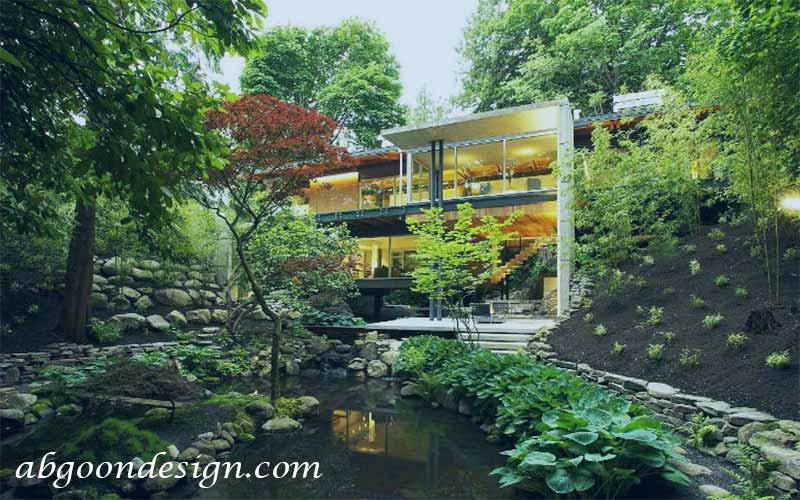 طراحی وساخت ویلا کوهستانی | آگون دیزاین