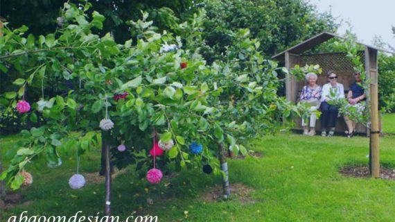 محوطه سازی باغ میوه