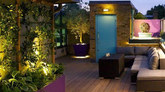 آشنایی با المان های دیوار سبز و روف گاردن برای زیباسازی ساختمان و طراحی ویلا